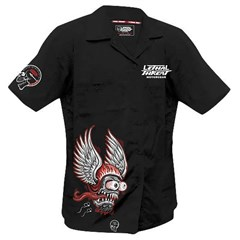 Winged Helmet Men's Work Shirt