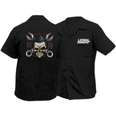 Wrench Skull Work Shirt