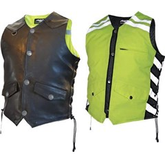 G2 D.O.C. Reversible Leather Safety Vest