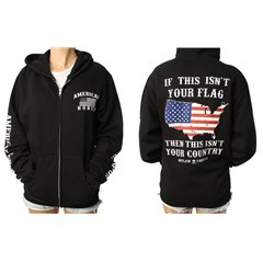 American Honor Womens Zip Hoody