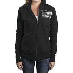 Thin Green Line Womens Hoodies