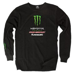 Team Monster Long-Sleeve Thermal T-Shirt
