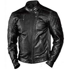 Men's Clash Leather Jacket