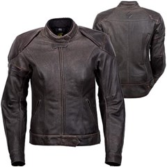 Catalina Womens Leather Jacket