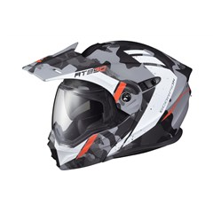 EXO-AT950 Outrigger Snow Helmet with Dual Lens Shield