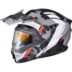 EXO-AT950 Outrigger Snow Helmet with Electric Lens Shield