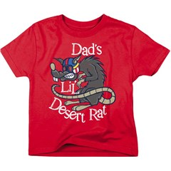 Dads Lil Desert Rat Toddler T-Shirts