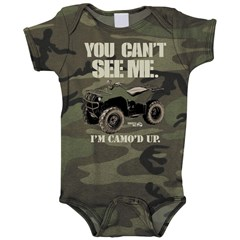 MX Cant See Me Infant Romper