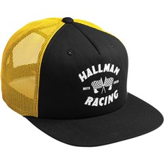 Finish Line Snapback Golden Hat