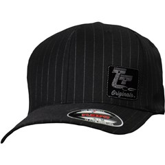 Originals Pinstripe Curved-Bill Throttle Threads Hats