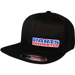 Parts Unlimited Flat-Bill Caps