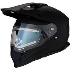 Range Solid Snow Helmets with Electric Shield