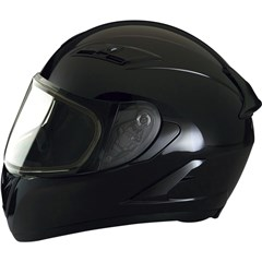 Strike Ops Solid Snow Helmets with Dual Lens Shield