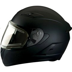 Strike Ops Solid Snow Helmets with Electric Shield