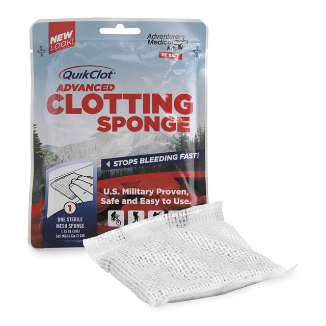 Quickclot Sponges