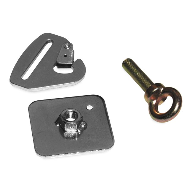 Quick-Release Snap Hook Harness Tab Kits