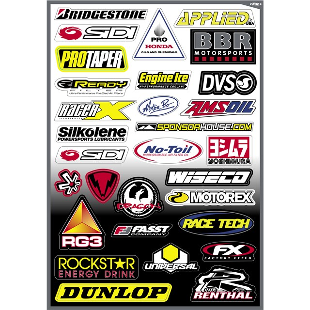 Sponsor Sticker Kits