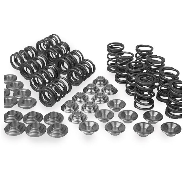 Black and White Diamond Valves and Valve Spring Kits