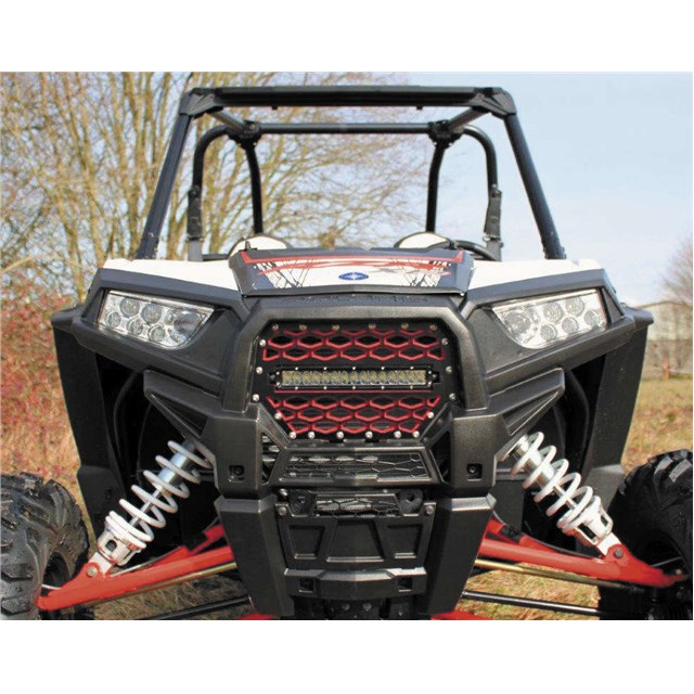 "Front Grill with 10"" Light Bar"