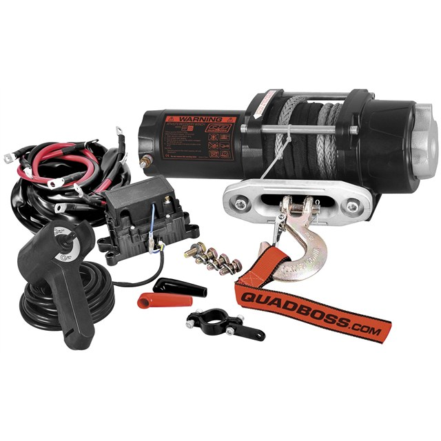 3500LB Winch with Dyneema® Cable