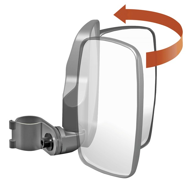 Snowmobile Side Mirrors : Universal side view mirrors babbitts yamaha partshouse