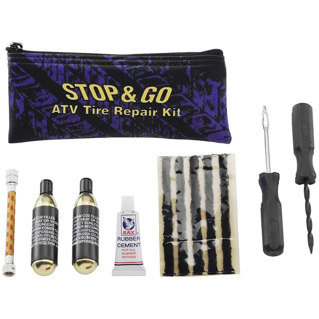 Stop and Go ATV Tire Repair Kit
