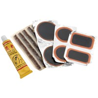 Tire/Tube Patch and Plug Replacement Kit