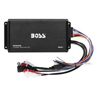 500-Watt 4-Channel Class A/B Amplifier
