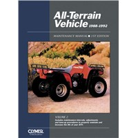 Pro Series All-Terrain Vehicle 88-92 Maintenance Manual, Volume 2