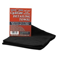 Black Micro Towels
