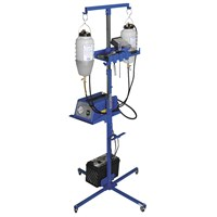 Portable Auxiliary Gas And Fan Caddy