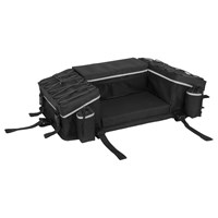 Reflective Series Rear Rack Bag with Integrated ATV Cover