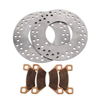 Arctic Cat 1000 Front Brake Rotors & Sev Dty Brake Pads