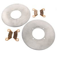 Arctic Cat 1000 Front Brake Rotors & Severe Dty Brake Pads