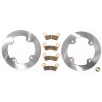 Polaris RZR 800 Front MudRat Brake Rotors and Severe Duty Brake Pads