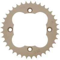 "Sunstar® Aluminum ""Works Triplestar"" Rear Sprockets"