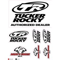 Tucker Rocky™ Biker's Choice® Logo Sticker Sheets