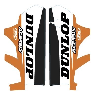 KTM Evo Lower Fork Graphics