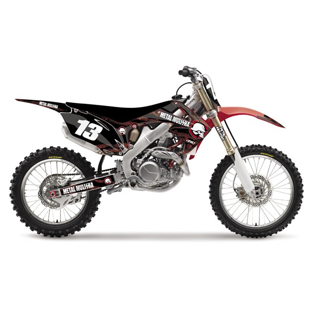 metal mulisha u2122 shroud kit for honda