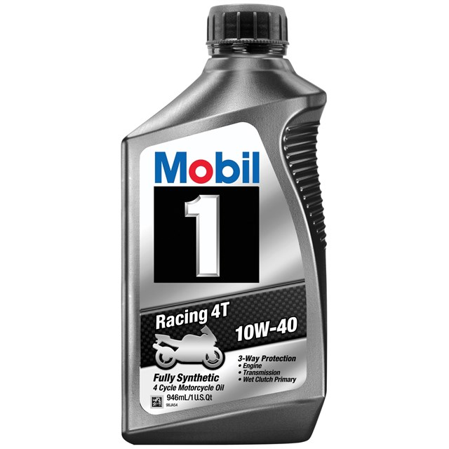 Mobil 1 Racing 4t 10w 40 Cyclepartsnation Honda Parts Nation