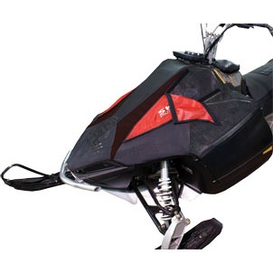 Aluminum Frame, Fabric Mesh Performance Hood for Polaris IQ