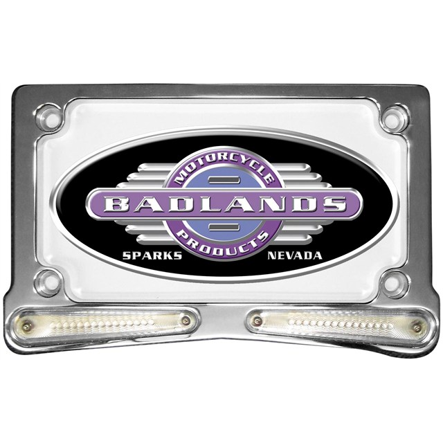 """Whiskers"" L.E.D. License Plate Frames"