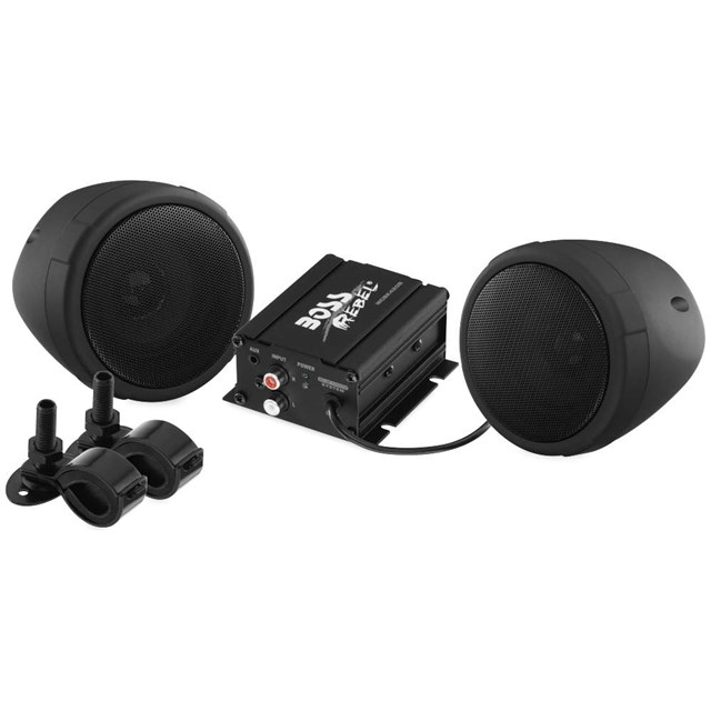 "600-Watt Bluetooth® 3"" Speaker Kit"
