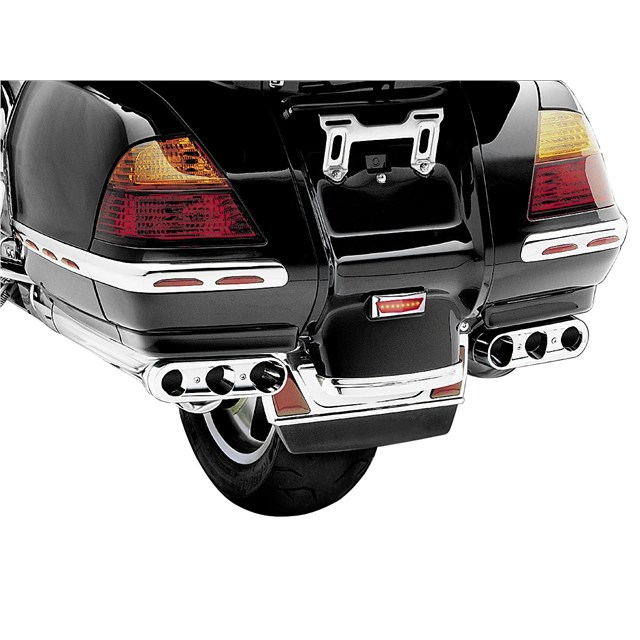 Triple Straight Exhaust Extensions for GL1800