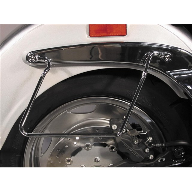 Chrome Saddlebag Guards for Suzuki