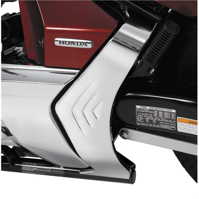 Chrome Frame Cover for Honda VT1300 R/S/T