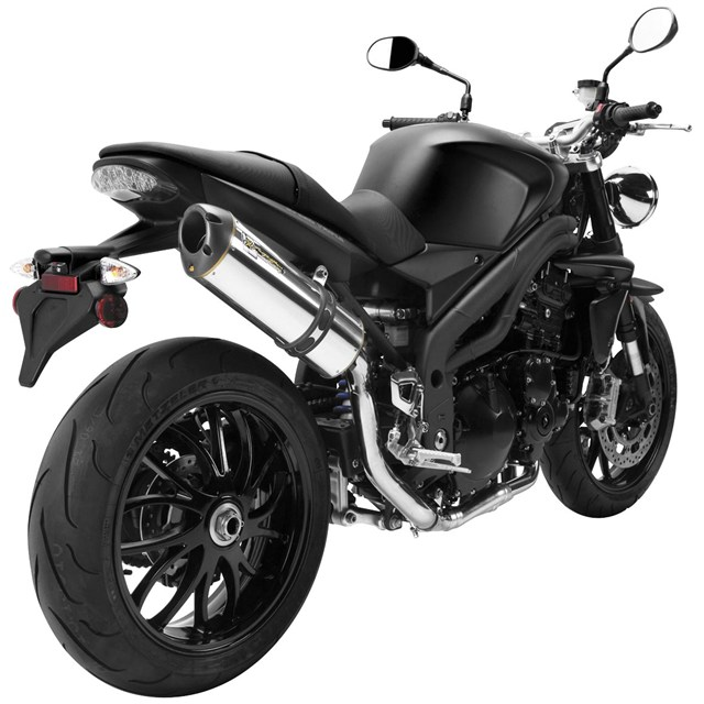 M Black Series Slip-Ons for Triumph