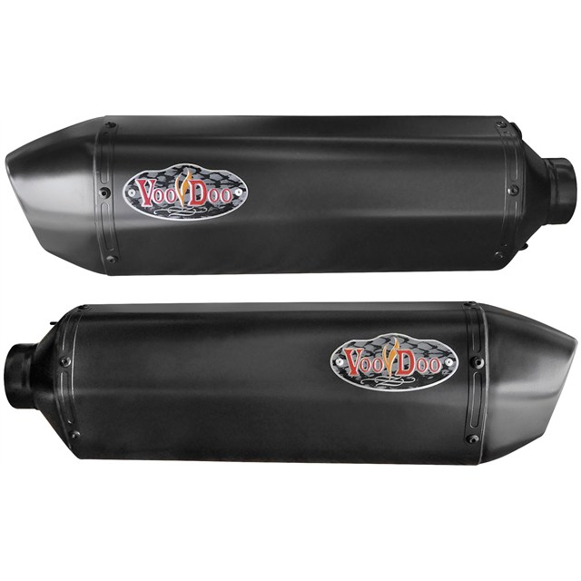 Voodoo Performance Exhausts for Kawasaki