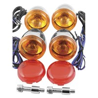 Deucec-Style Front And Rear Turn Signal Kit
