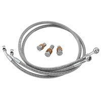Dual Line Stainless Steel Sport Bike Brake And Clutch Lines